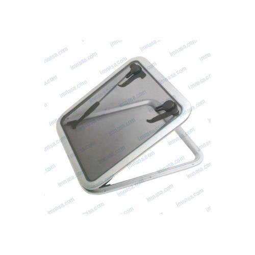 Lukna ALU, nízký profil, 260x260mm