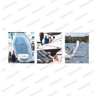 Kolíbka na nafukovací člun obr.2