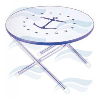 Stůl skládací kulatý Imnasa 60 cm