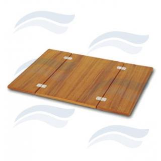 Teak deska na stůl 66x90 cm