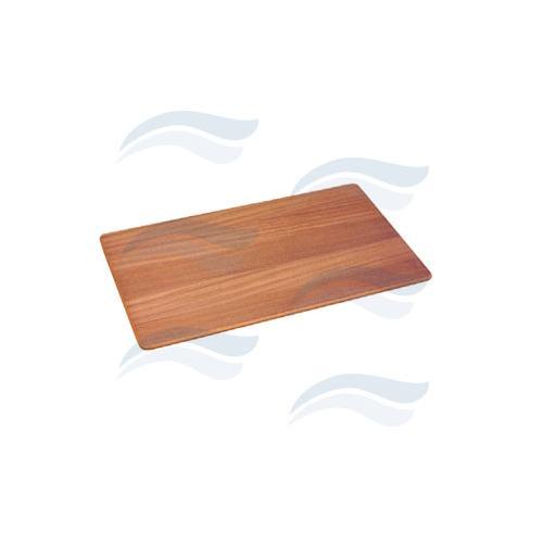 Teak deska na stůl 41x70 cm