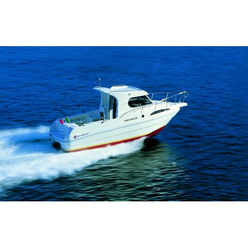 Scarani Cabin Fish 24, Mercruiser benzin 4,5 l- 250, 250 PS