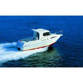 Scarani Cabin Fish 24, Volvo Penta benzin, V6 - 240 CE - DPS, 240 PS