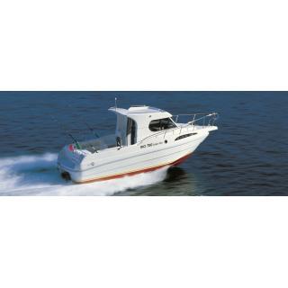 Scarani Cabin Fish 24, Mercruiser benzin 4,5 l- 250 B3 DTS, 250 PS, nová loď