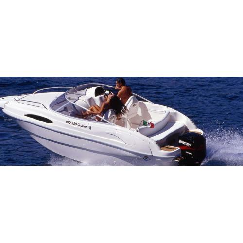 Scarani Cruiser 19, barva bílá, pro závěsné motory