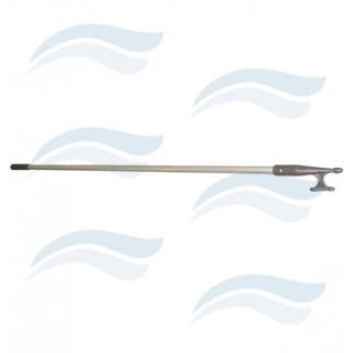 Lodní háček 120 cm, 2,5cm ALU + NYLON