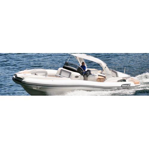 Člun Marlin 386, 2x Mercury Diesel 3.0 DTS B3X , TDI, 260 HP
