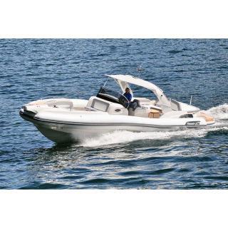 Člun Marlin 386, 2x Mercury Diesel 3.0 DTS B3X , TDI, 260 HP obr.4