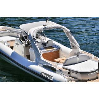 Člun Marlin 386, 2x Mercury Diesel 3.0 DTS B3X , TDI, 260 HP obr.5