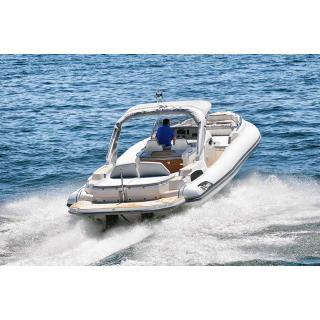 Člun Marlin 386, 2x Mercury Diesel 3.0 DTS B3X , TDI, 260 HP obr.6
