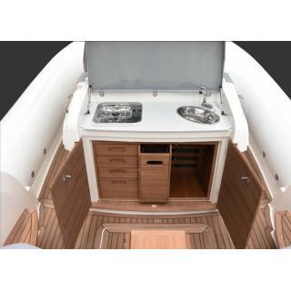 Člun Marlin 386, 2x Mercury Diesel 3.0 DTS B3X , TDI, 260 HP obr.9