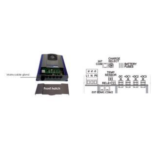 Dolphin Charger PRO HD 3 out 24 V 60 A 115/230 V, DNV-GL obr.3