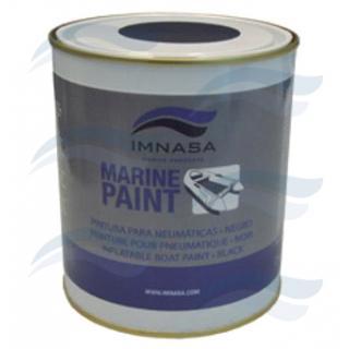 Antifoulingový nátěr pro nafukovací čluny 750 ml, barva černá
