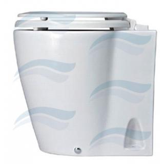 Elektrická toaleta s porcelánovou miskou Laguna 12V