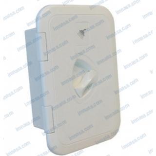 Schránka pro sprchu zavíratelná 245x170 mm