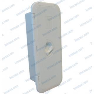 Schránka pro sprchu zavíratelná 410x170 mm